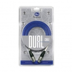 BLUE DUAL CABLE