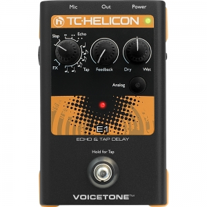 TC HELICON VOICETONE E1 ECHO & TAP DELAY
